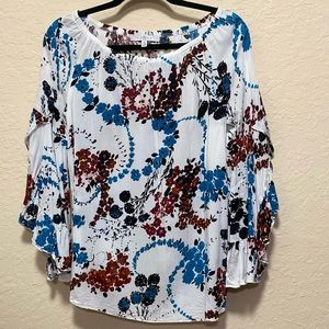 Fever Blouse with Ruffle Sleeves